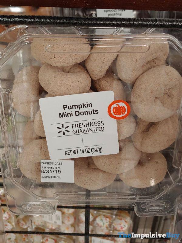 Walmart Pumpkin Mini Donuts