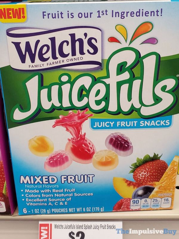 Welch s Mixed Fruit Juicefuls Juicy Fruit Snacks