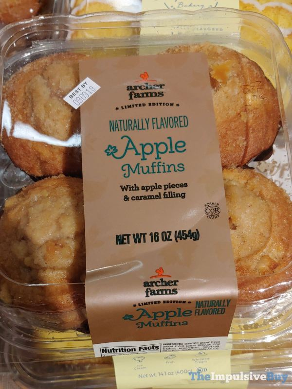 Archer Farms Limited Edition Apple Muffins
