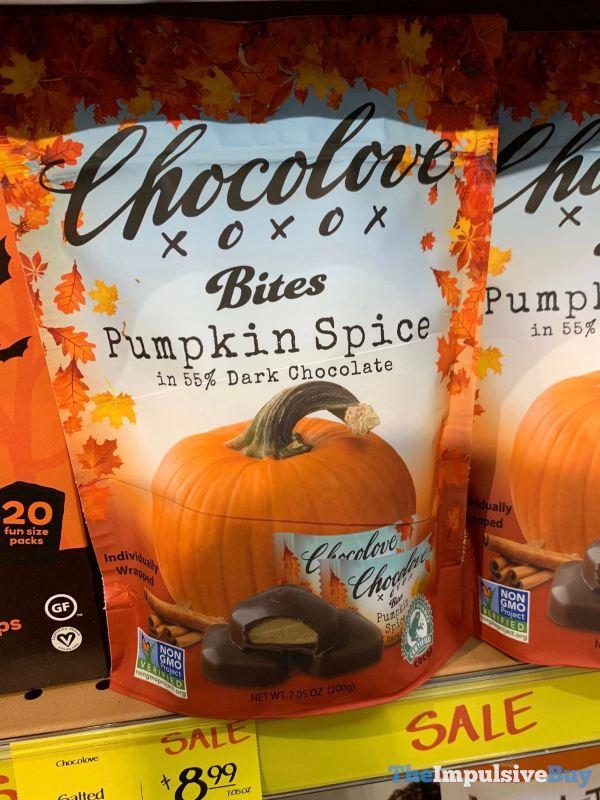 Chocolove Bites Pumpkin Spice