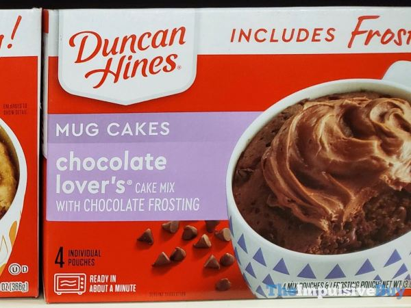 Duncan Hines Chocolate Lover s Mug Cakes