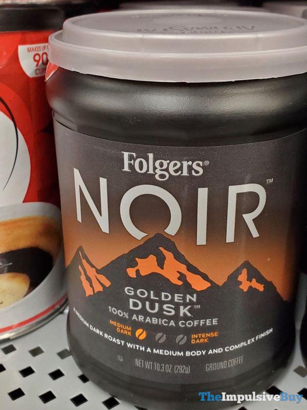 Folgers Noir Golden Dusk