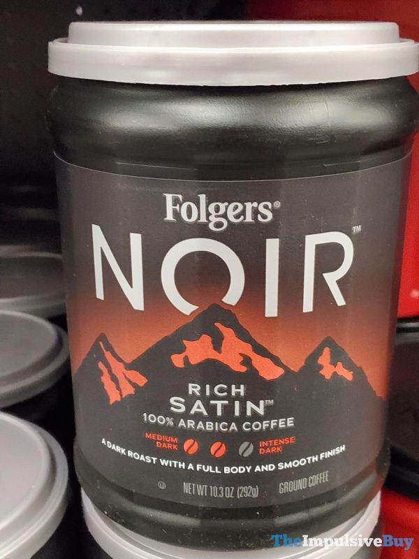 Folgers Noir Rich Satin