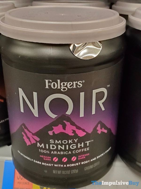 Folgers Noir Smoky Midnight