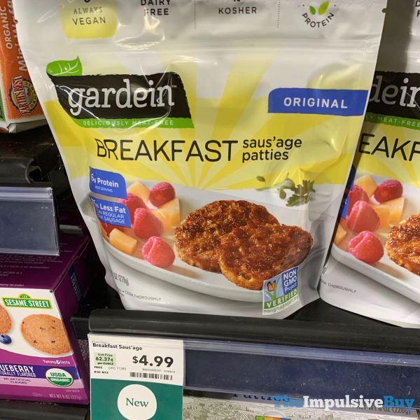 Gardein Breakfast Saus age Patties