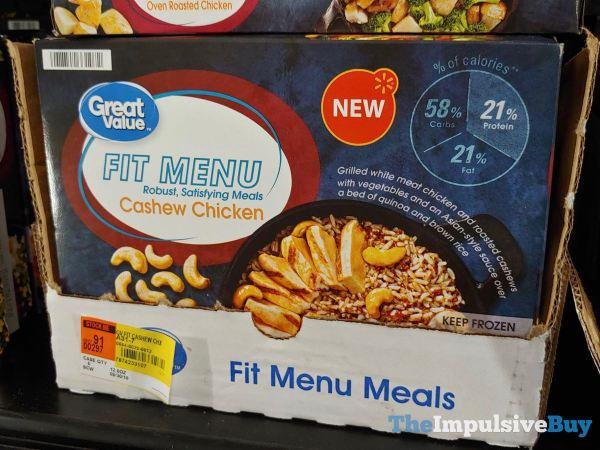 Great Value Fit Menu Cashew Chicken