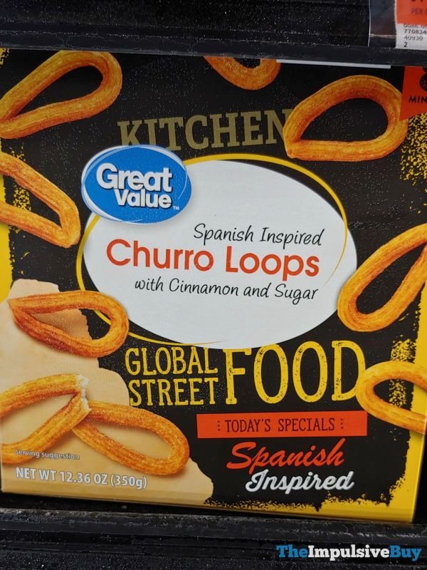 Great Value Global Street Food Spanish Inspired Churro Loops