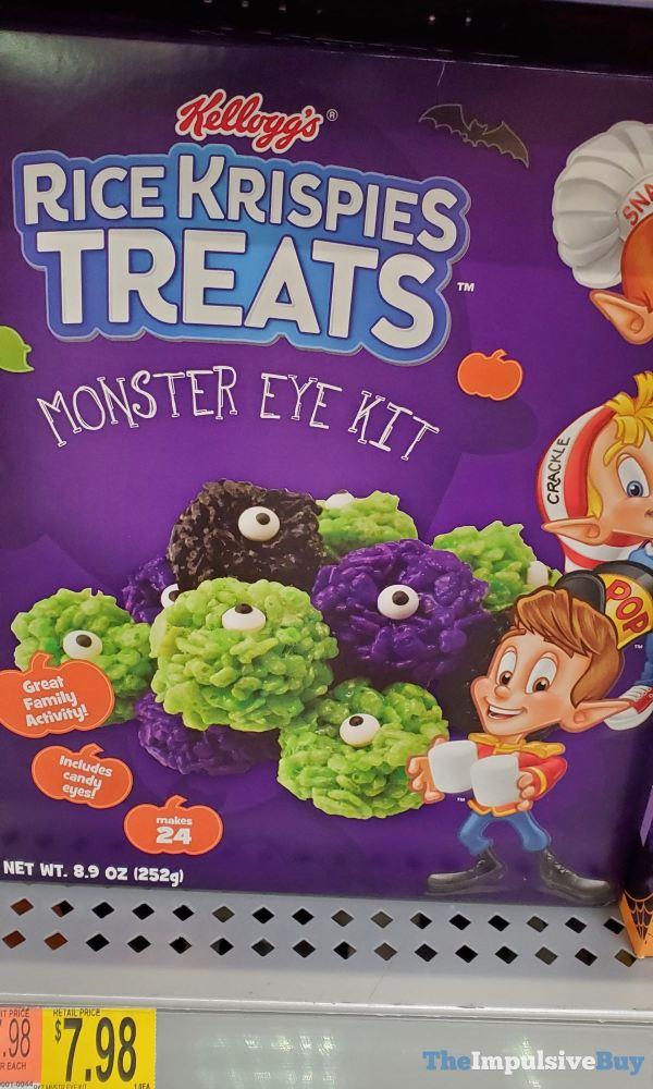 Kellogg s Rice Krispies Treats Monster Eye Kit