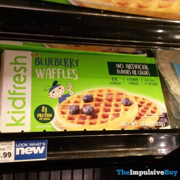 Kidfresh Blueberry Waffles