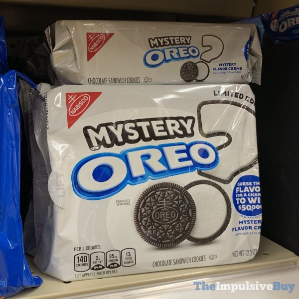 Limited Edition Mystery Oreo Cookies 2019
