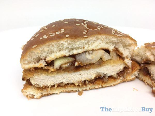 McDonald s Spicy BBQ Chicken Sandwich 4