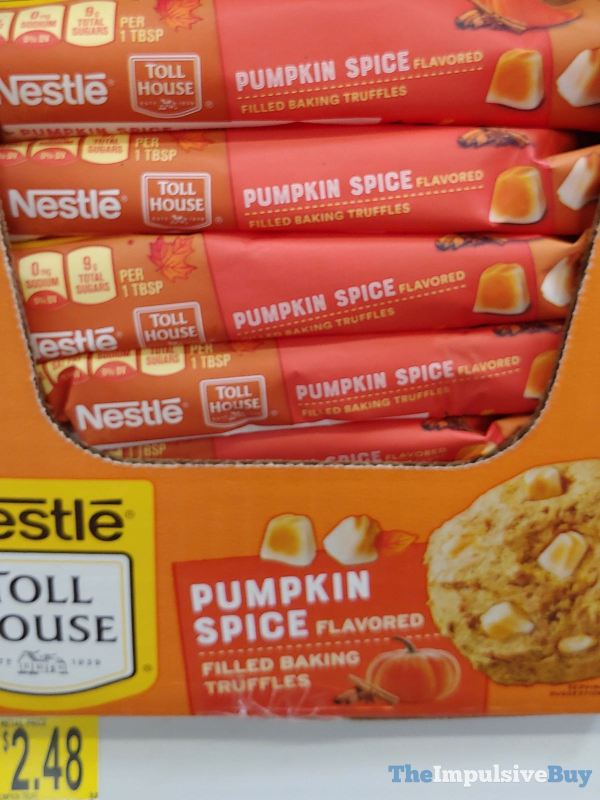 Nestle Toll House Pumpkin Spice Filled Baking Truffles