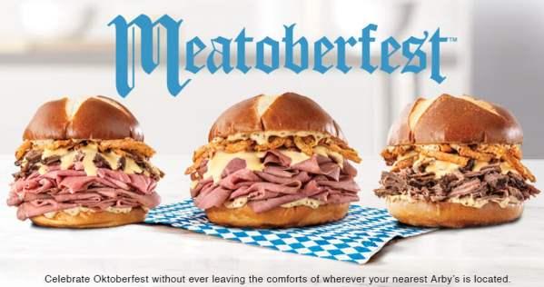News Arby s Meatoberfest