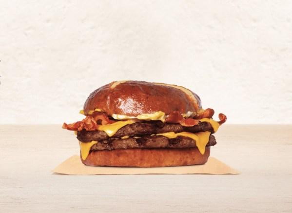 News  Burger King Pretzel Bacon King