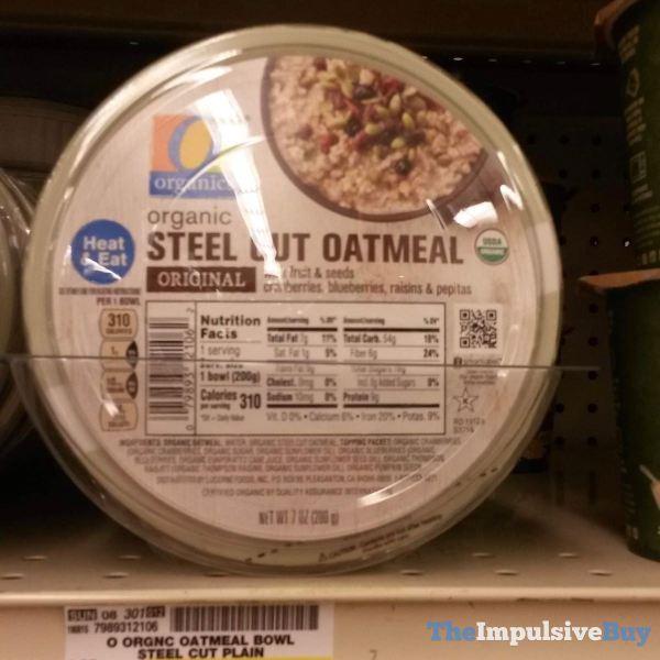 Safeway Organics Original Steel Cut Oatmeal