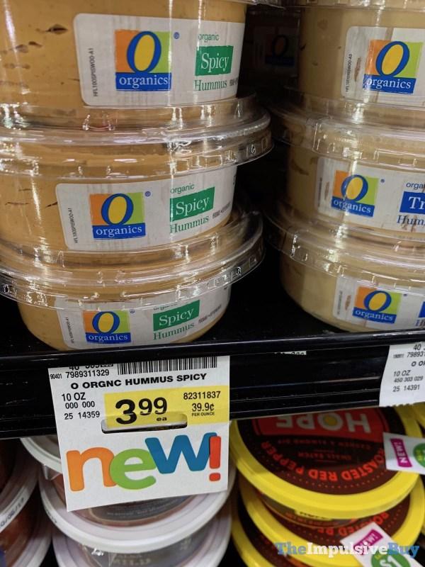 Safeway Organics Spicy Hummus