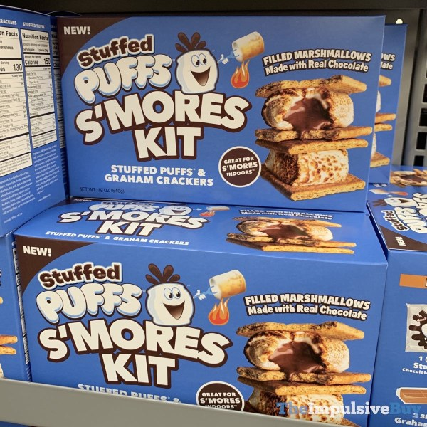 Stuffed Puffs S mores Kit