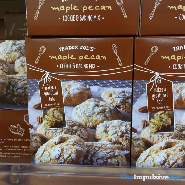 Trader Joe s Maple Pecan Cookie  Baking Mix