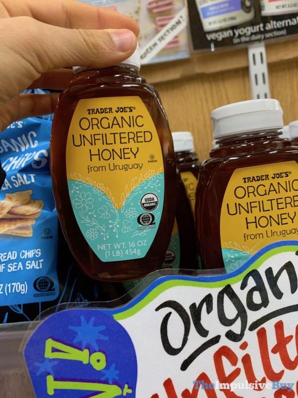 Trader Joe s Organic Unflitered Honey from Uruguay