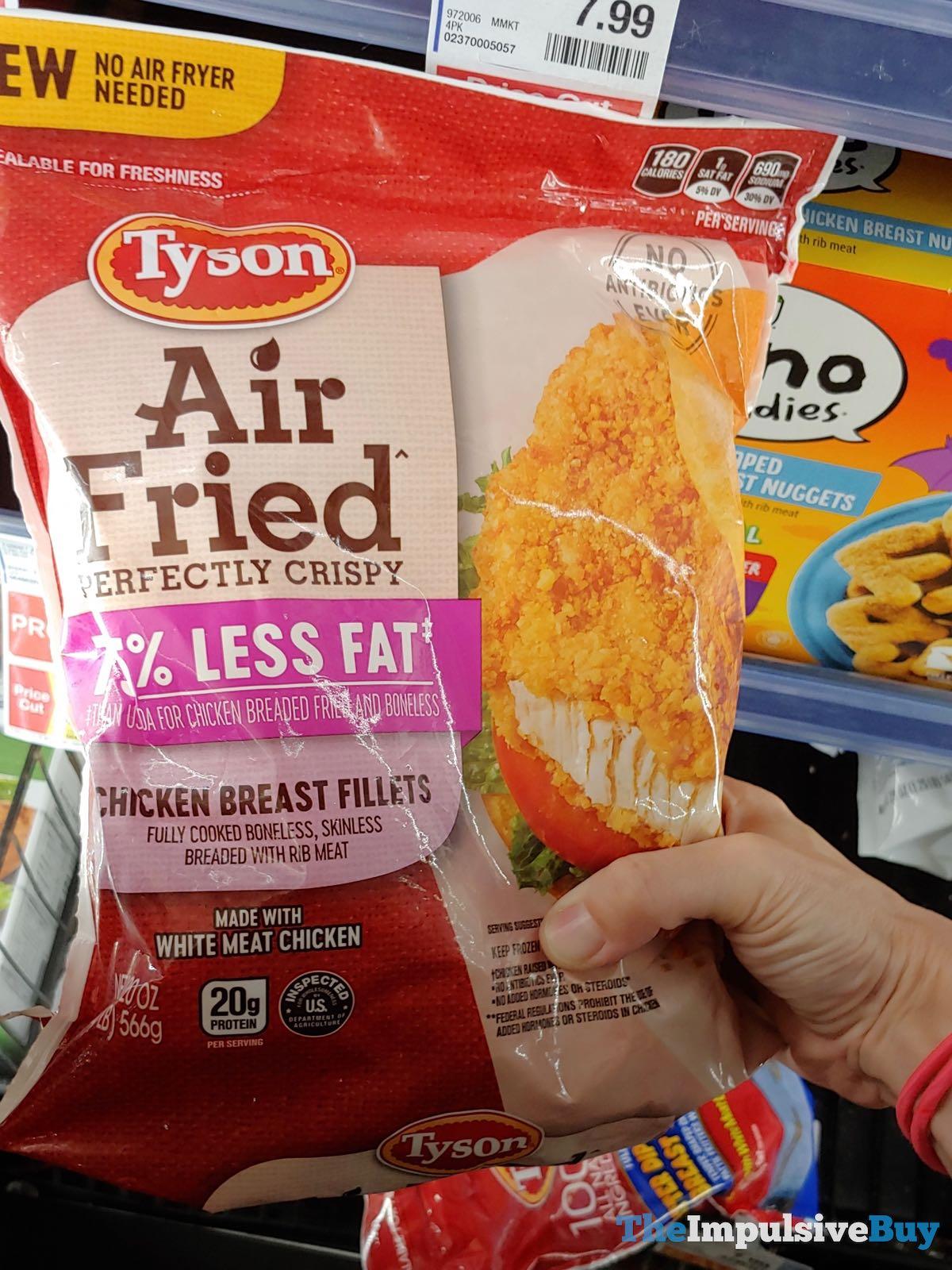 Tyson Air Fried Chicken Breast Fillets Jpg The Impulsive Buy