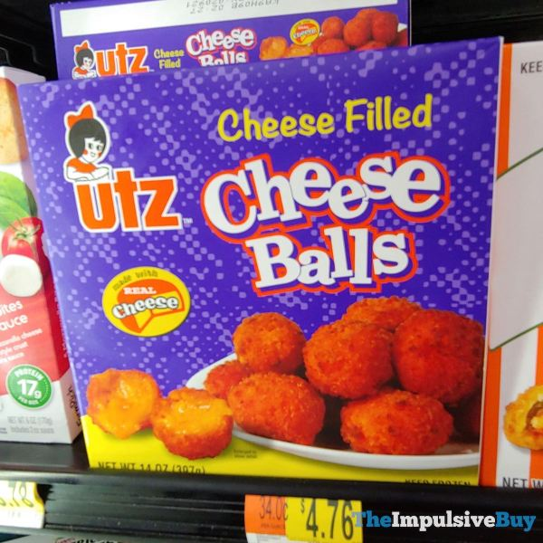 Utz Cheese Filled Cheese Balls
