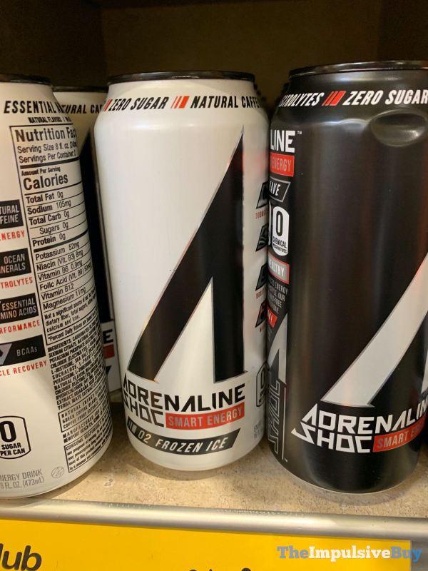 Adrenaline Shoc Frozen Ice Energy Drink