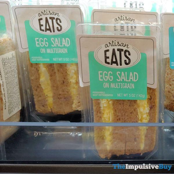 Artisan Eats Egg Salad on Multigrain and Tuna Salad on Multigrain