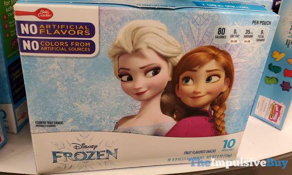 Betty Crocker Disney Frozen Fruit Flavored Snacks