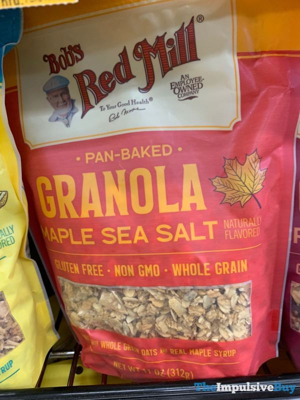 Bob s Red Mill Pan Baked Maple Sea Salt Granola