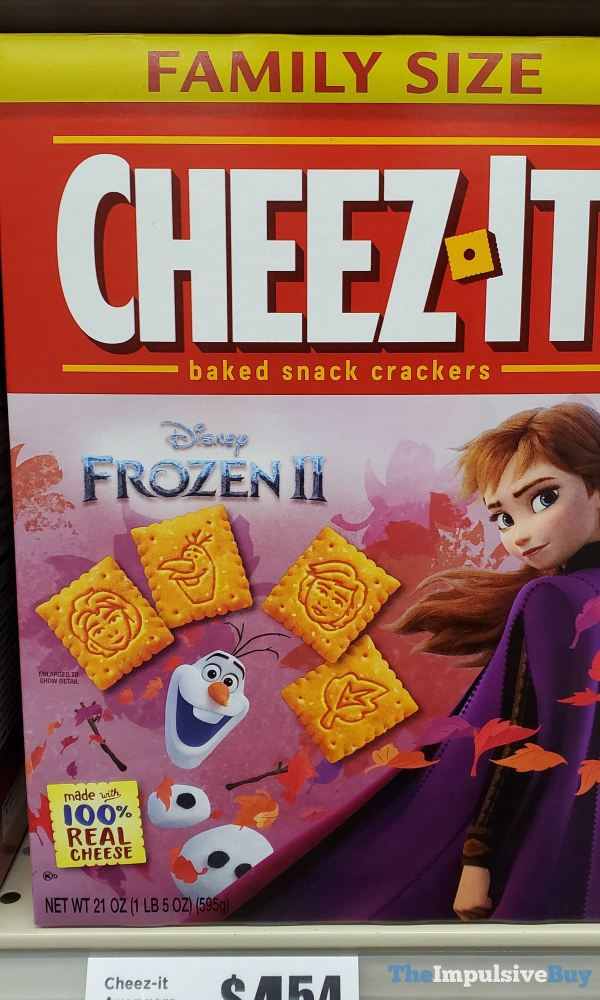 Cheez It Disney Frozen II Crackers