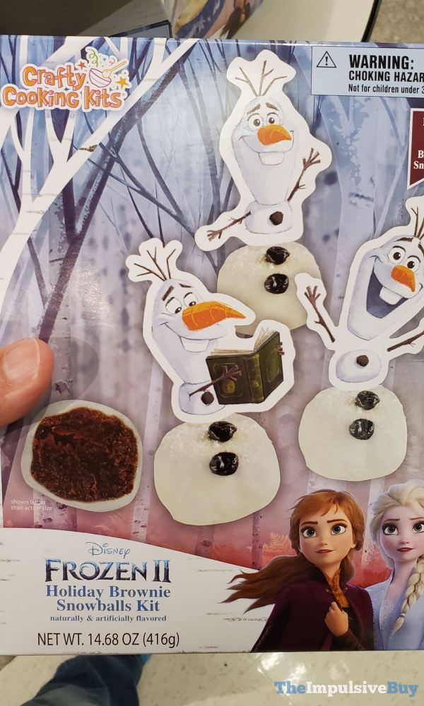 Crafty Cooking Kits Disney Frozen II Holiday Brownie Snowballs Kit