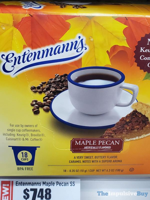 Entenmann s Maple Pecan K cups