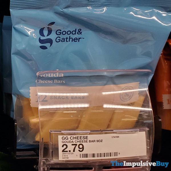 Good  Gather Gouda Cheese Bars