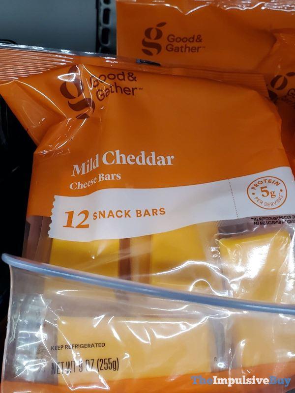 Good  Gather Mild Cheddar Cheese Bars