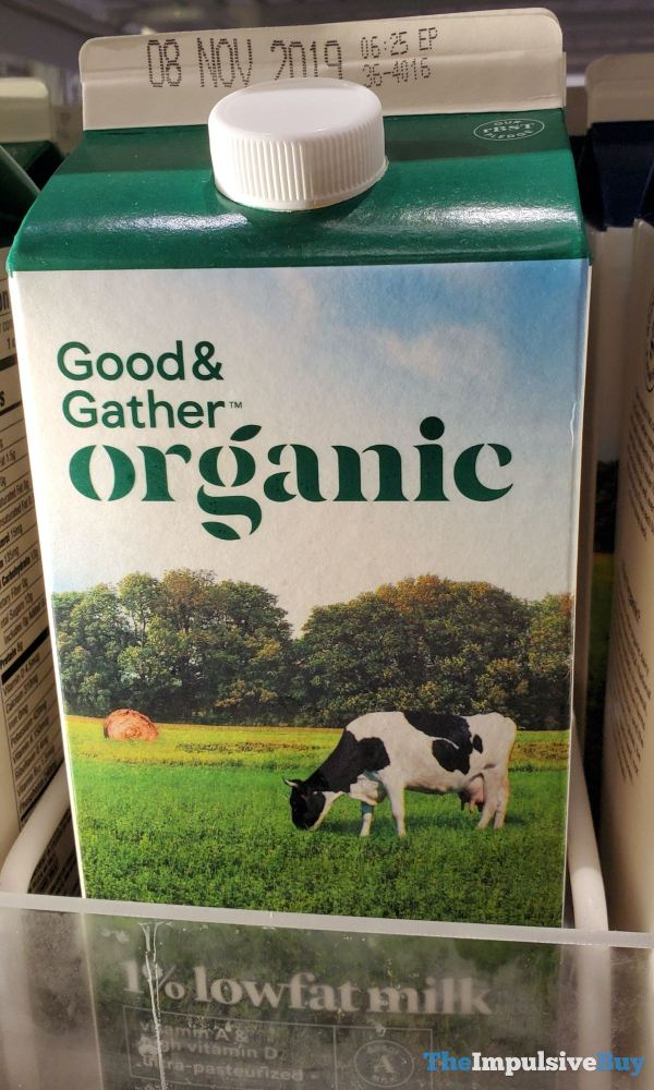 Good  Gather Organic 1 Lowfat Milk