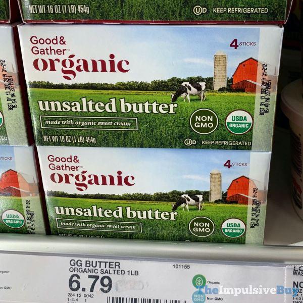 Good  Gather Organic Unsalted Butter