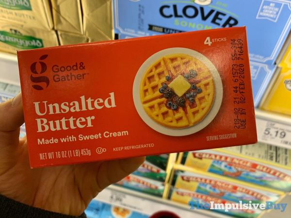 Good  Gather Unsalted Butter