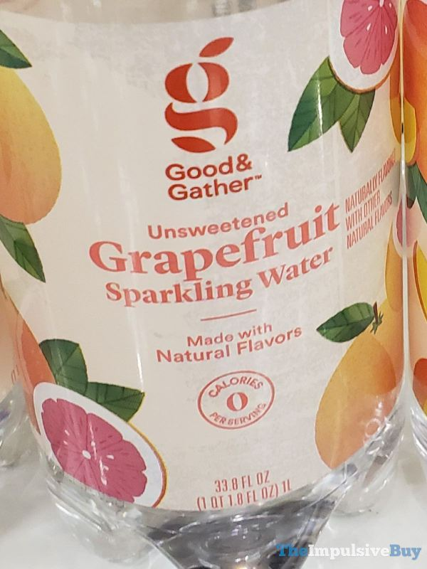 Good  Gather Unsweetened Grapefruit Sparkling Water