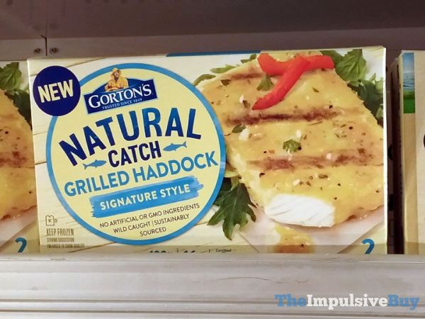Gorton s Natural Catch Signature Style Grilled Haddock