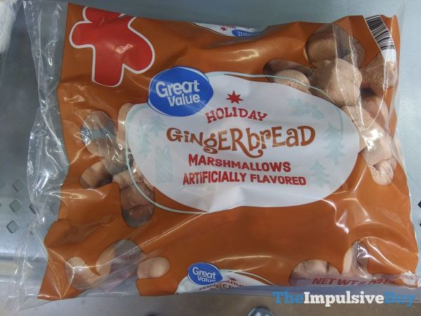 Great Value Holiday Gingerbread Marshmallows