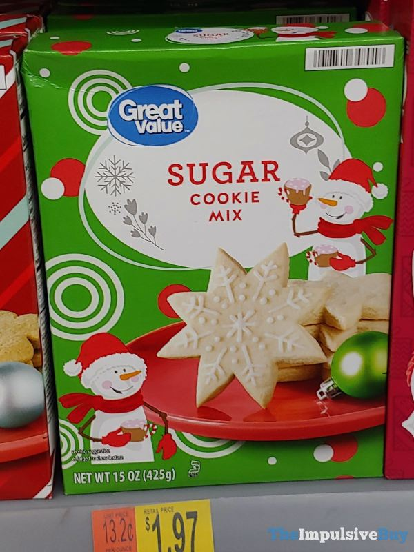 Great Value Holiday Sugar Cookie Mix