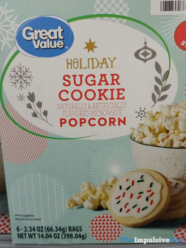 Great Value Holiday Sugar Cookie Popcorn