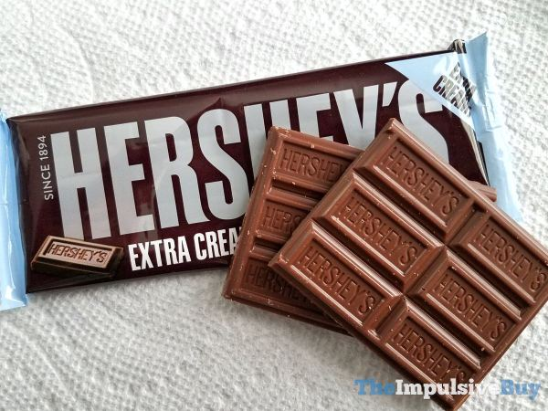 Hershey s Extra Creamy Milk Chocolate Bar 2