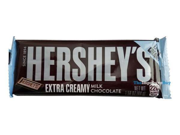 Hershey s Extra Creamy Milk Chocolate Bar