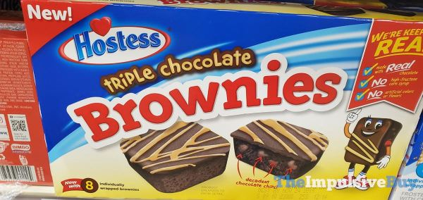Hostess Triple Chocolate Brownies