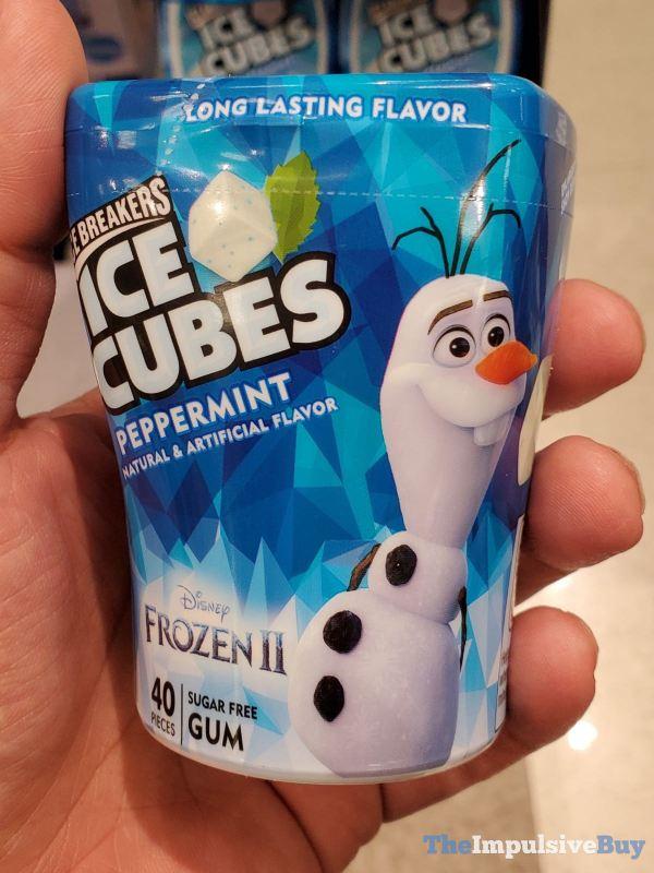 Ice Breakers Ice Cubes Disney Frozen II Peppermint Gum