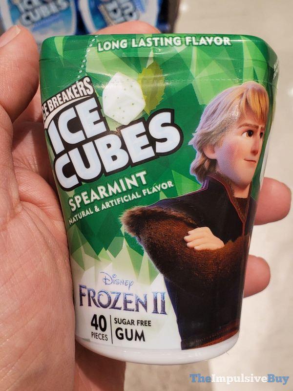 Ice Breakers Ice Cubes Disney Frozen II Spearmint Gum