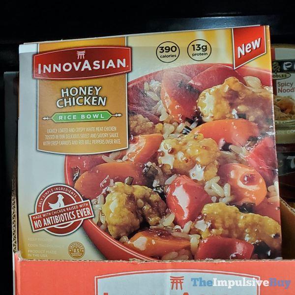 InnovAsian Honey Chicken Rice Bowls