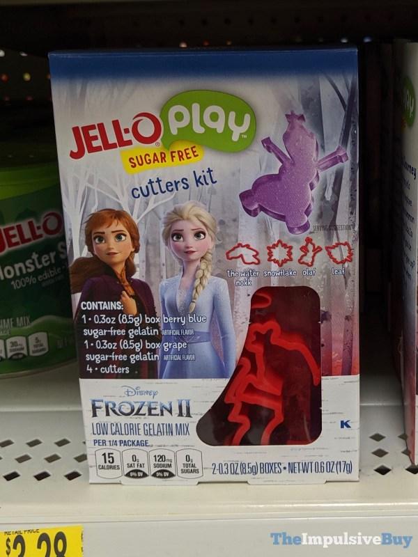 Jell O Play Sugar Free Disney Frozen II Cutters Kit