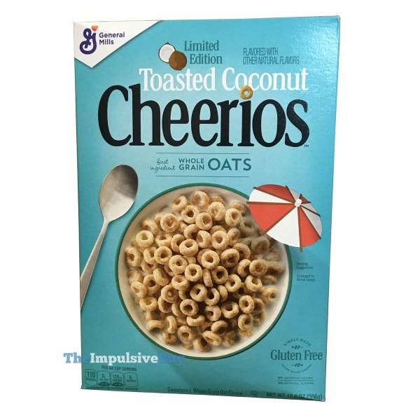 Limited Edition Toasted Coconut Cheerios Cereal